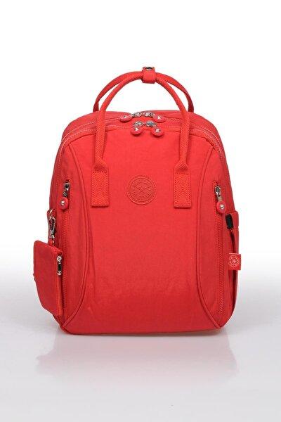 Kırmızı Kadın Sırt Çantası Smb1220