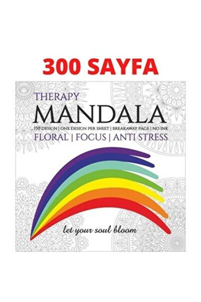 Mandala Boyama Kitabı 300 Sayfa