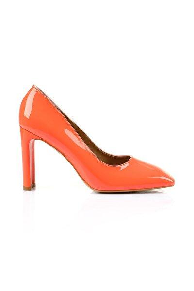 Petra Turuncu Topuklu Ayakkabı