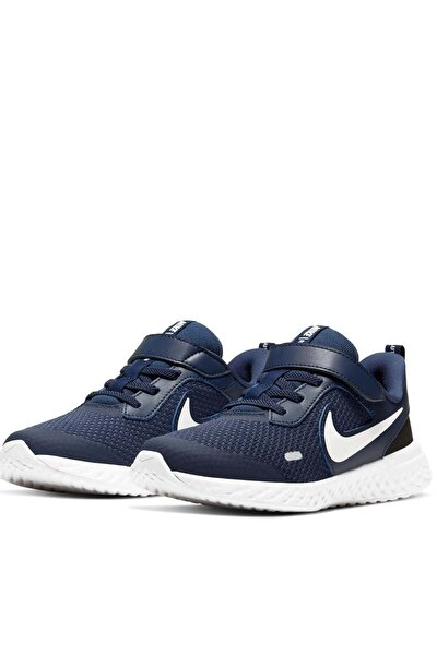 Unisex Çocuk Lacivert Revolutıon 5 (Psv) Yürüyüş Koşu Ayakkabı Bq5672-402