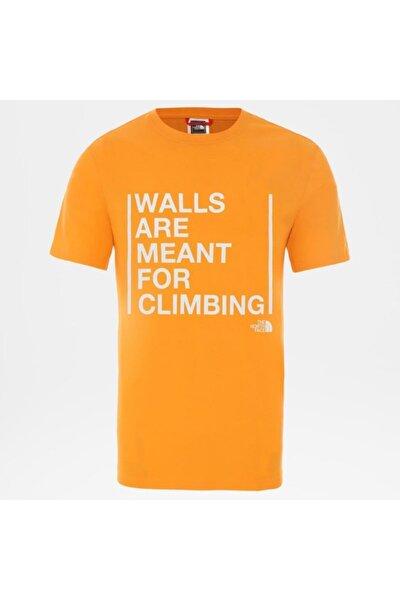 Erkek Tişört Walls Are For Climbing NF0A3S3SECL1