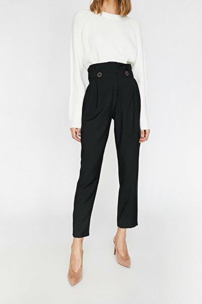 Kadın Siyah Pantolon 0kak48194cw