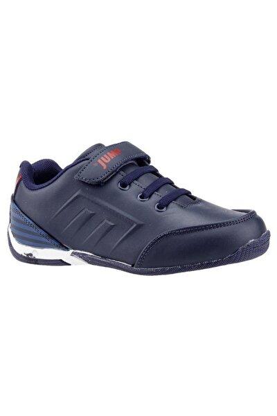 Lacivert Kırmızı Erkek Çocuk Spor Ayakkabı 20810