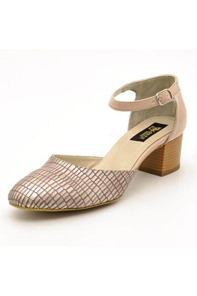 9797 Bej Lezar Büyük Numara Bayan Ayakkabıları