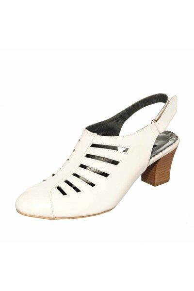 Kdr1841 Beyaz Büyük Numara Ayakkabı Özel Seri Rahat Kalıp Yeni Model
