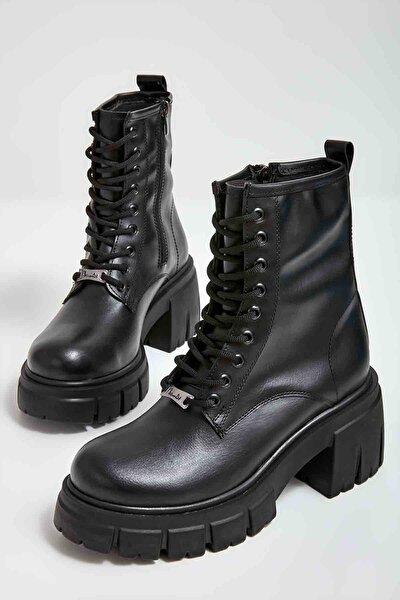 Siyah Kadın Bot & Bootie M0510199909