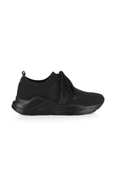 Life Siyah Triko Sneaker