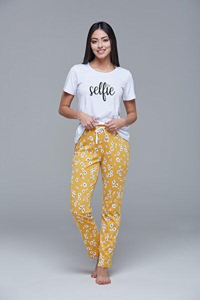 21430 Kadın Kısa Kollu Pijama Takım