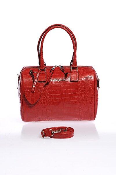 Luxury Sg1082019-7 Kırmızı Kadın Omuz Çantası