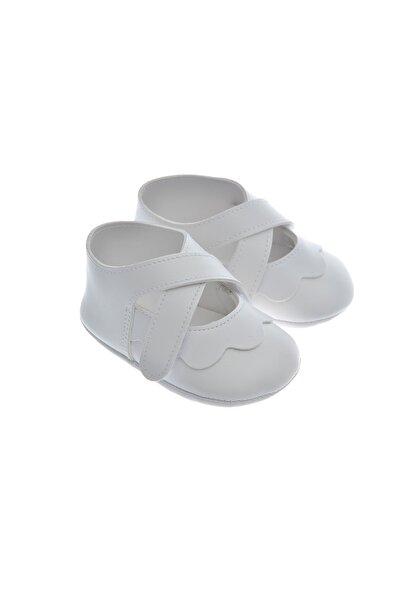 Frs911220 Beyaz Bebek Patiği, Bebek Ayakkabısı