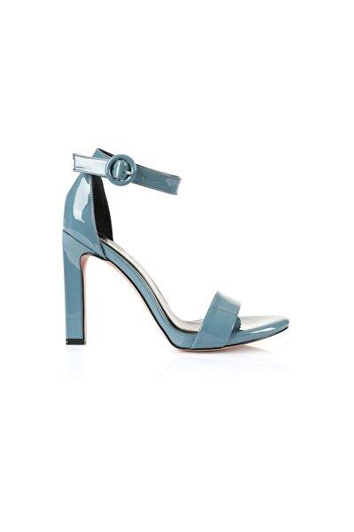 Carmen Indigo Mavi Topuklu Ayakkabı