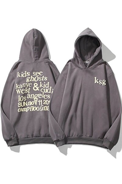 Ksg Oversıze Sweatshirt Koyugrı Tr30022