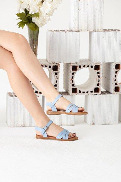 Bebe Mavi Sandalet