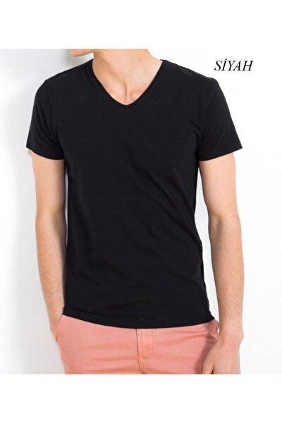 Erkek V Yaka T Shirt 4635