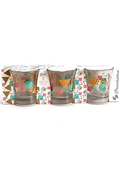 420014 Azur Ceo Desenli Su Bardağı 240 Cc 3 Lü