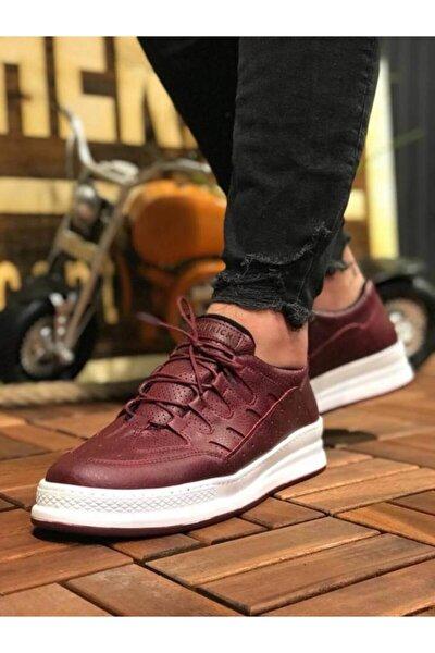 Tt040 Bordo Bt Erkek Günlük Ayakkabı