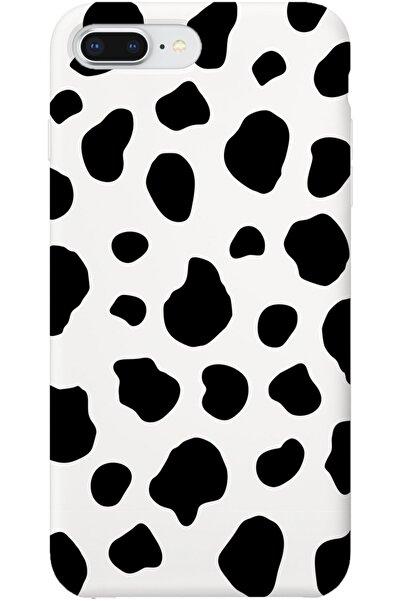 Iphone 7 Plus Lansman Dalmaçyalı Desenli Telefon Kılıfı