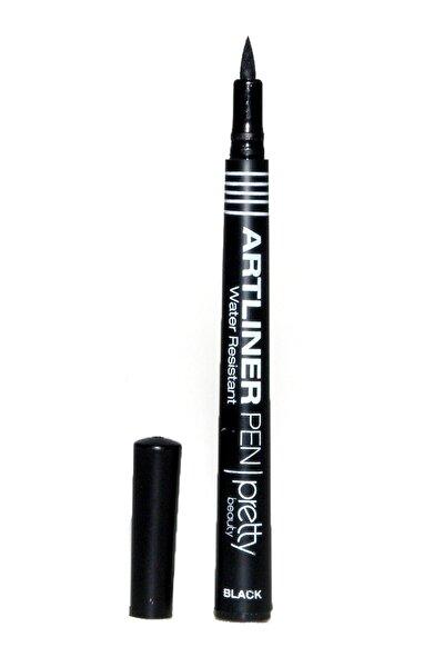 Suya Dayanıklı Siyah Eyeliner - Art Liner Pen Waterproof Black Pb-20 8697406101954