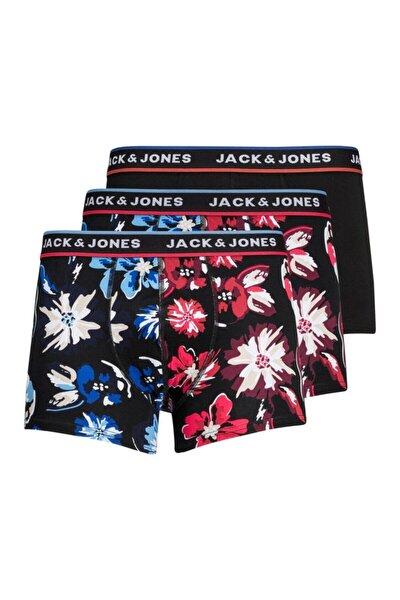 Jack Jones Colors Erkek 3 Lü Paket Erkek Baxer