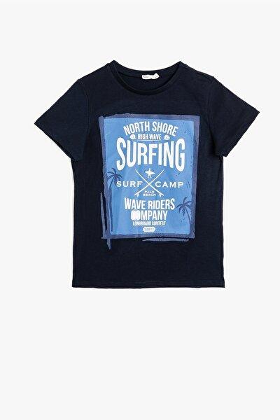 Koton Indıgo Erkek Çocuk T-shirt 0ykb16451ok