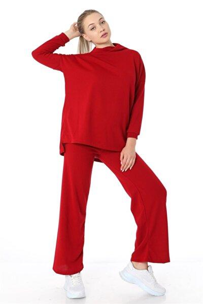 Salaş Triko Takım - Kırmızı