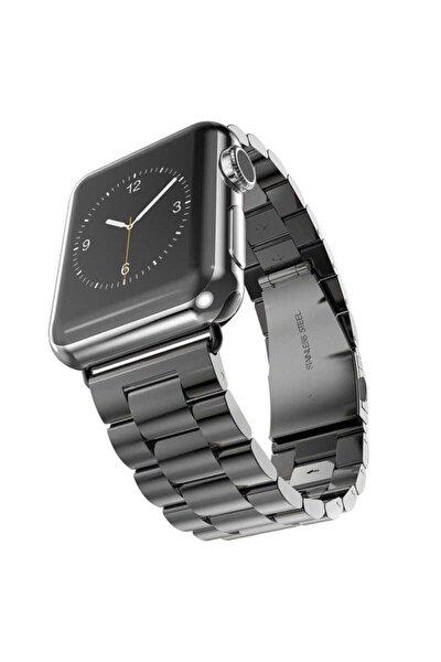 Apple Watch 2 3 4 5-44 Mm Çelik Klipsli Metal Kordon