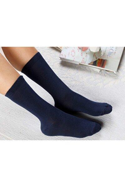 Lucky Pamuk Kadın Çorap Lacivert