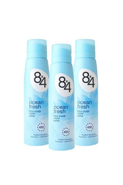 Ocean Fresh 150 ml Deodorant X 3