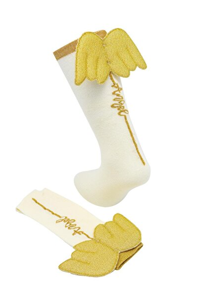 Katamino Angely Kız Golf Melek Kanatlı Kız Çocuk Çorabı   K12033