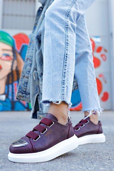 Ch251 Bt Kadın Ayakkabı Bordo