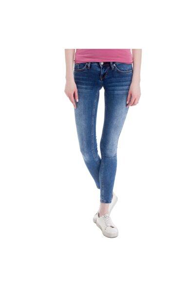 Gina Jeggings Kadın Jean Pantolon Mavi
