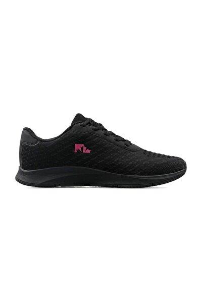 Kadın Siyah Spor Ayakkabı Johnson Wmn 9pr