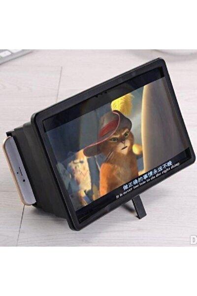 Tv Görünümlü Telefon Ekran Büyüteci 3d Mercek Aparatı