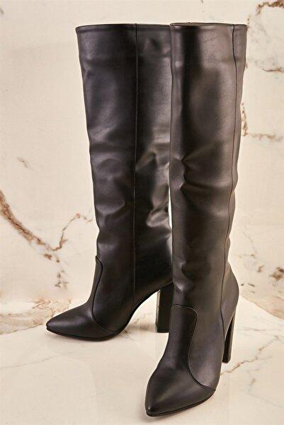 Siyah Kadın Çizme K06391135