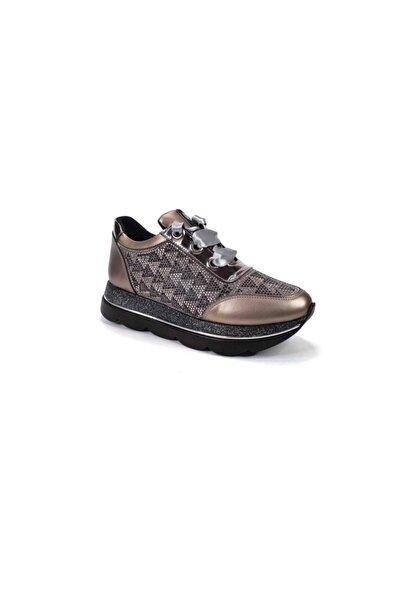 Pc-30466 Kadın Kalın Taban Günlük Sneaker Ayakkabı