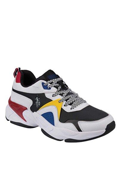Us Polo Jımmy Erkek Günlük Spor Ayakkabı 100536420-beyaz