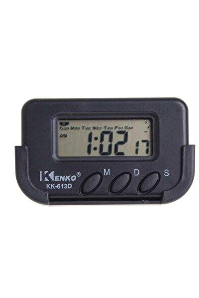 Etrd Mini Dijital Saat - Araç Saati Öğrenci Ders Alarm Kronometreli Mini Kenko