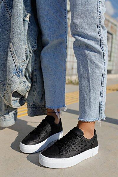 Ch015 Bt Kadın Ayakkabı Sıyah