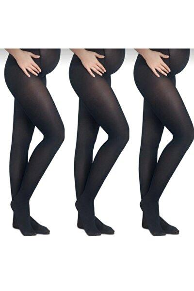Hamile Külotlu Çorap 40 Denye 3'lü Paket