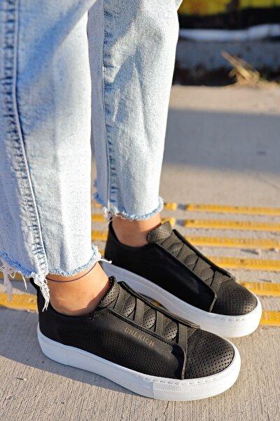 Ch011 Bt Kadın Ayakkabı Sıyah