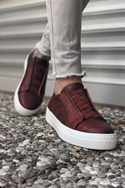 Ch Ch011 Bt Erkek Ayakkabı Bordo