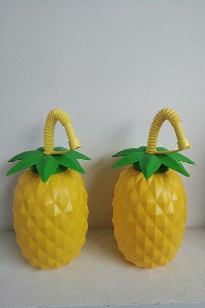 Tropic Esintili 2'li Ananas Pipetli Suluk