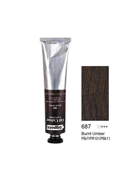 Yağlı Boya 200 ml Burnt Umber 687