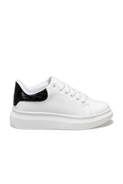 20K-103 Beyaz Kadın Havuz Taban Sneaker 100584428