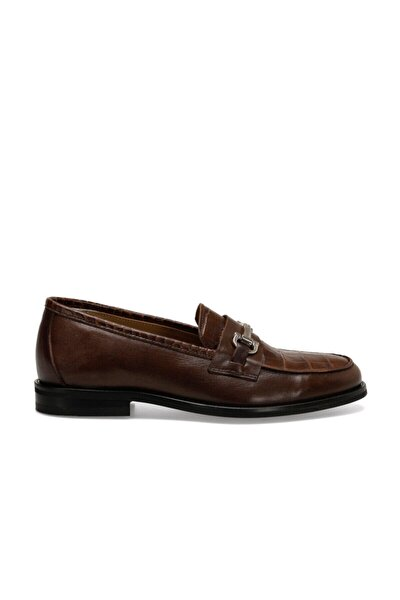 GERA Taba Kadın Loafer Ayakkabı 100525692