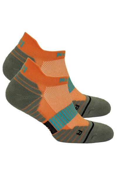 Turuncu Coolmax Koşu Çorabı Bolt