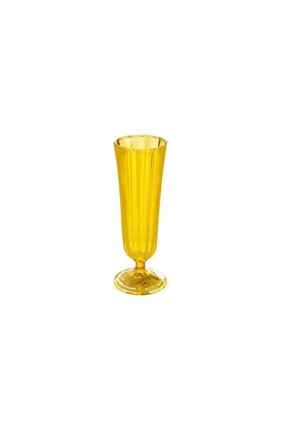 Tradiation Sarı Kahve Yanı Su Bardağı