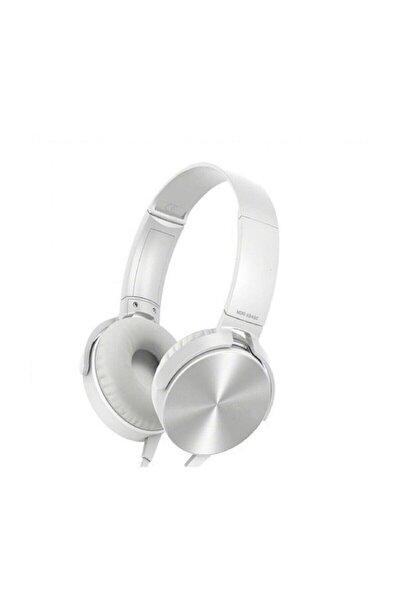Extra Bass Kulaklık Ses Mikrofonlu Oyuncu Gamer Stereo Sarı