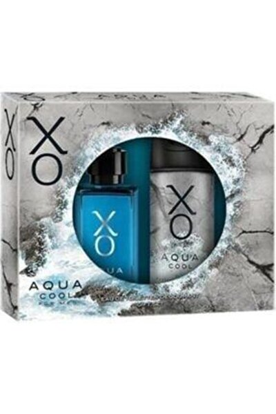 Set Aqua Cool Edt 100ml + Deodorant Hediyeli Erkek Parfüm Set