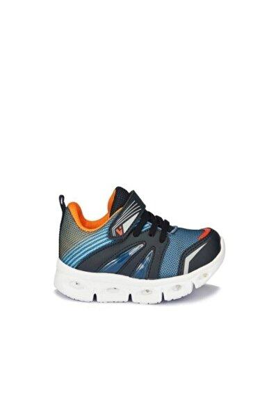 Erkek Lacivert Samba Işıklı Spor Ayakkabı